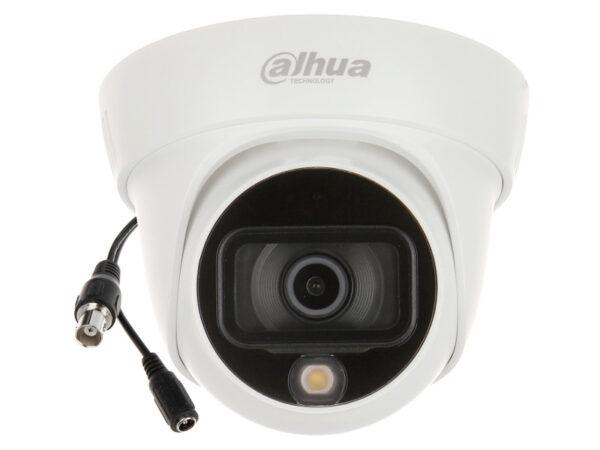 Dahua HAC-HDW1509TL-A-LED kamera 5MP u boji noću sa mikrofonom