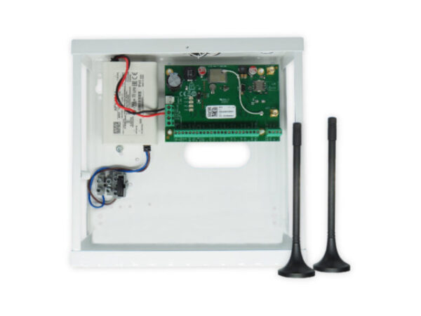 Trikdis Flexy SP3 centrala u kutiji sa transformatorom sa GSM i Wi-Fi internet modulom za dojavu i upravljanje